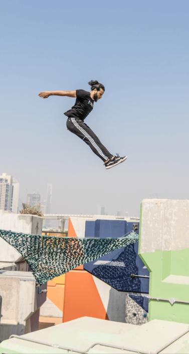 Parkour Intermediate Classes Dubai
