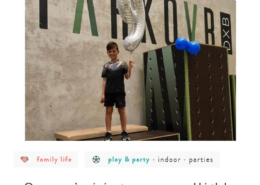 A Parkour kids birthday party like no other