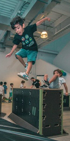 Kids Parkour Camps in Abu Dhabi and Dubai
