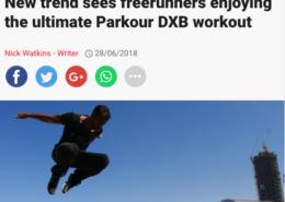 ParkourDXB in Sport 360