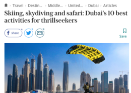 In the Press 2 Parkour Dubai Abu Dhabi