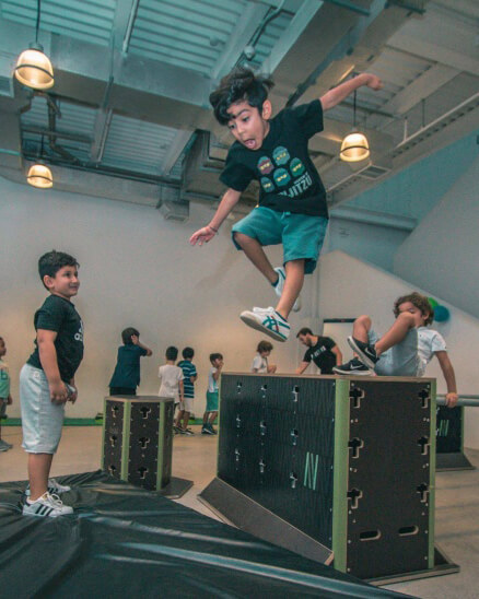 Kids Parkour Classes