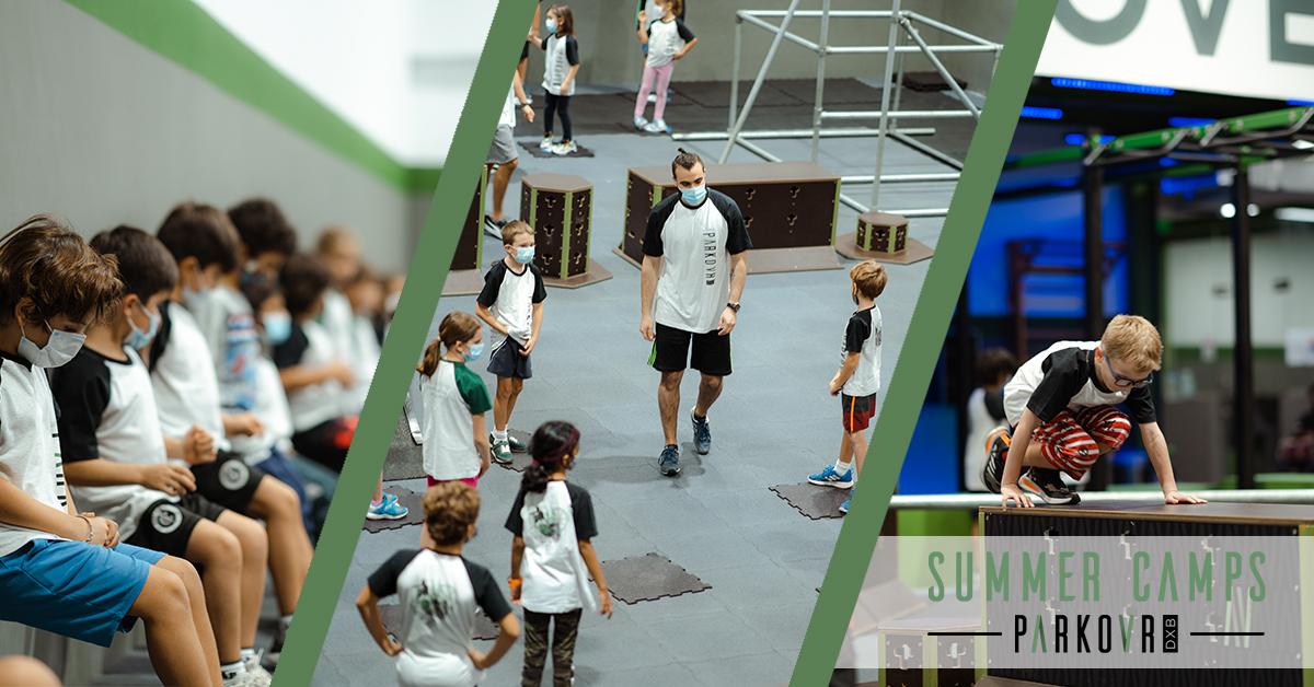 Parkour DXB Summer Camp Curriculum